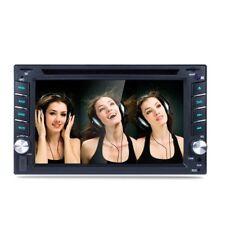 2 DIN 6.2'' Car DVD Player GPS SAT NAV Bluetooth RDS Stereo Radio + 8GB Map Card