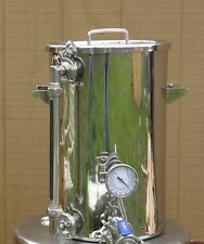 9.2 Gallon Hot Liquor Tank, Thermometer & Sight Glass, Home Brewing,