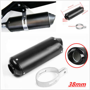 38mm Off-road Motorcycle Exhaust Pipe Muffler Silencer Universal Slip On Killer