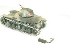 SOLIDO, piéce détachée d'origine, 1 pot d'échappement pour char R35 militaire