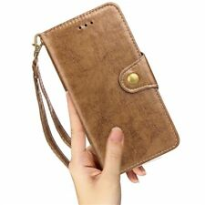 Retro Phone Case Wallet Case Oil Wax PU Leather Detachable For iphone X XS XR