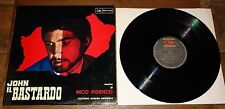 JOHN IL BASTARDO ~ NICO FIDENCO ~ ORIGINAL SOUNDTRACK OST LP ITALIAN WESTERN