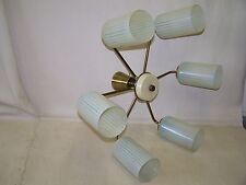 Sputnik vecchia lampada a sospensione, Lampada DDR culto design retrò, cartocci Lampada Vintage Panton