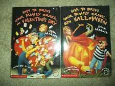 How to Drive Your Family Crazy on Halloween/Valentines Day books by Dean Marne