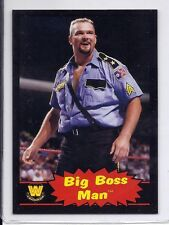 BIG BOSS MAN 2012 Topps Heritage BLACK Border SP #61 Rare ONLY 100 MADE