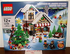 NEW SEALED LEGO 10199 CREATOR WINTER VILLAGE TOY SHOP XMAS HOLIDAY TREE 7MINIFIG