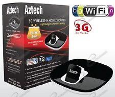 Aztech Router WiFi per Chiavetta 3G Hsdpa più presa usb per stampante