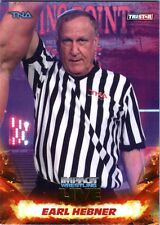 TNA Earl Hebner #28 2013 Impact Wrestling LIVE GOLD Parallel Card SN 24 of 50