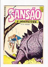 Sansao  No.12   :: 1969 ::  :: Dinosaur Cover! ::  :: Portuguese Copy ::