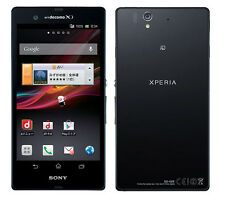 SONY SO-02E XPERIA Z ANDROID SMARTPHONE 13.1 MP FULL HD UNLOCKED NEW JAPAN BLACK