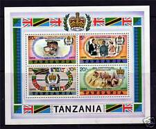 Tanzania 1978 Anniv.of Coronation MS SG237a MNH