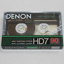 Denon HD7 90 Minute SEALED Blank Media New/Old Audio Cassette Tape Made in Japan