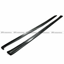 PH~ 2Pcs Side Skirt Extension Add on For Mitsubishi EVO 7 8 9 Dam-Style FRP Type