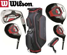 Wilson Prostaff HDX Complete Golf Club Set & Cart Bag New All Graphite Shafted