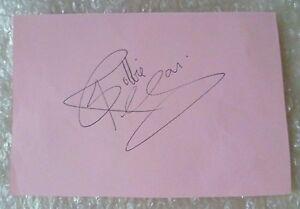 Org Signature of ROBBIE REAGAN Heavyweight Champion of GB,Europe,Commonwealth GM