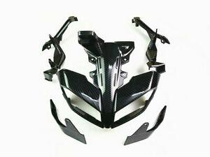 Headlight Front Panel Cover Bracket Fairing Cowl For Yamaha MT-09 FZ09 2017-19