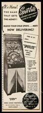 1947 Esquire Games coin-op Spot Lite arcade game machine photo vintage trade ad