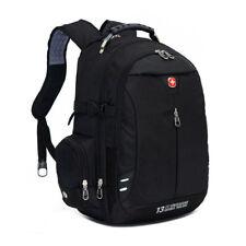 Swiss Gear Men Women Laptop Backpack Student Bag BusinessTravel Rucksuck Black