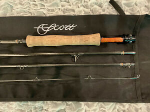 Scott Radian R906/4 - 9' for 6 weight line, 4 piece fly rod