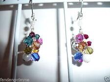 Unbranded Plastic Drop/Dangle Costume Earrings