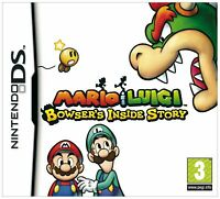 Mario and Luigi: Bowser's Inside Story NDS 2DS Nintendo DS Video Game UK Rel