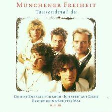 CD álbum Münchener Freiheit Tausendmal Du 2001 Sony Columbia