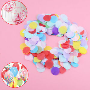 10g/pack Colorful Round Paper Party Wedding Throwing Table Confetti Decoration