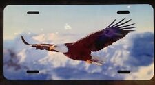 SOARING AMERICAN BALD EAGLE  License Plate  Made in USA