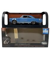 1:18 Highway 61 Collectibles 1967 Plymouth GTX Blue 50051