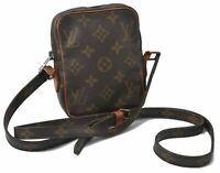 Authentic Louis Vuitton Monogram Mini Danube Shoulder Bag LV B5900