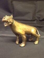 Heavy Vintage Brass Tiger. ( see description).