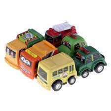 6pcs/lot Child Kids Mini Pull Back Model Car Toys Vehicle Sets Educational Toys