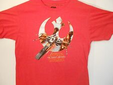 Star Wars REBEL ALLIANCE X-WING T-shirt Mens Size XL(46/48)The Force Awakens,BB8