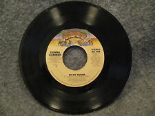 "45 RPM 7"" Record Donna Summer Bad Girls & On My Honor 1979 Casablanca NB 988 VG+"