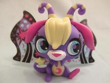 Littlest Pet Shop LPS #2826 Moonlite Purple Star Ray Moon Fairy 100% Authentic