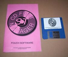 Atari 520 1040 ST STE Mega TT Falcon 030 computer CD Font Manager software 1995