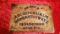 Ouija Board Ghost London Thames Map Seance fortune telling Magic Laminated sheet