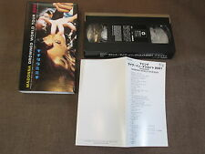 MADONNA Drowned World Tour 2001 JAPAN NTSC VHS VIDEO w/SLIP CASE WPVR-90061