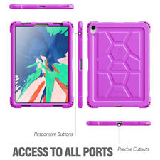 "For iPad Pro 11 Case Poetic ""Grip & Drop Protection"" Cover-【TurtleSkin 】Purple"