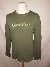 T-shirt Calvin Klein Vert Taille M  à  -62%*