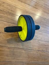 Yellow Altus Abs Abdominal Core Strength Training Roller Exercise Fitness Wheel