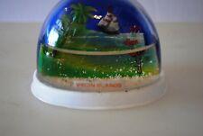 Vtg Snow Dome Globe Virgin Islands Souvenir Snowdome Snowglobe