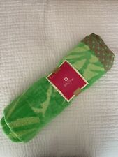 """NWT! Lilly Pulitzer for Target Beach Towel Green 40"""" By 72"""""""