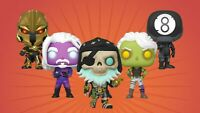 Funko POP! Games Fortnite Chapter 2 - 5pc Set - NEW - IN STOCK - MINT