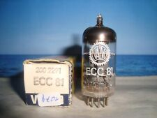 ECC81 ( 12AT7 6201 E81CC ) VALVO / MULLARD # CODE: VF3/B9C3 # NOS NIB (1074)