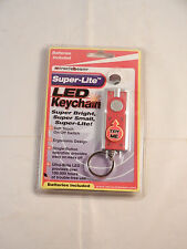 "MIRACLE BEAM SUPER-LITE LED KEYCHAIN ""NEW"" BATTERIES INCLUDED"