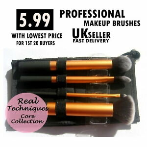 Real Techniques Make up Brushes Core Collection/Travel Essentials/Starter Set