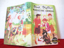 ENID BLYTON'S MAGAZINE ANNUAL NO. 2 1955 HC COPY JACKET  Eileen Soper and others