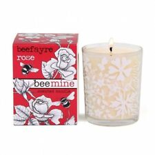 Bee Mine Morroccan Rose Scented Votive Candle in Ornate Glass Holder