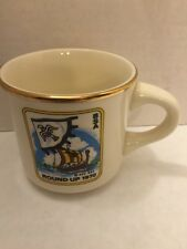 Boy Scout Of America Round Up 1970 Commemorative Mug Cup Ship USA